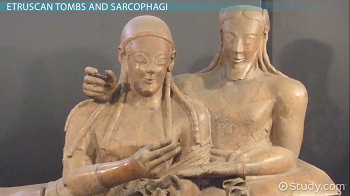 Etruscan sarcophagus depicting man and wife