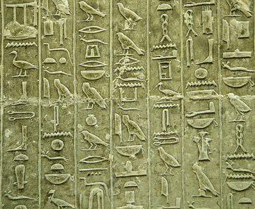 What are similarities and diff. between babylon written language and egyptian written language?