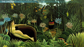 The Dream, by Rousseau
