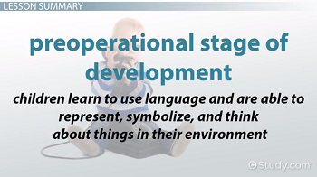 The Preoperational Stage of Development: Definition
