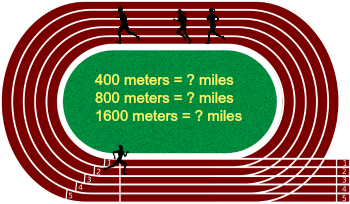 How To Convert 800 Meters To Miles Study Com