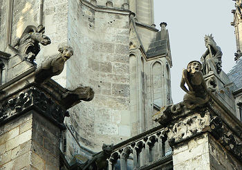 gargoyles on buildings images