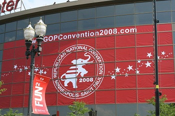 Republican Convention Banner 2008