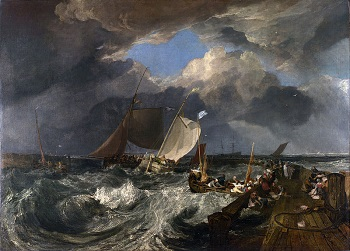The Slave Ship by JMW Turner