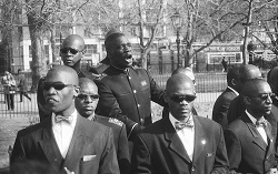 Nation of Islam, preaching in London in 1999.