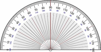 A Protractor Is Tool Used To Measure Angles