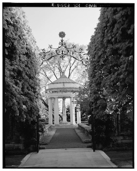 William welles bosworth architect of mit study kykuit a garden designed by bosworth for the rockefeller family fandeluxe Gallery