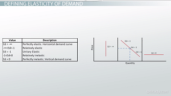 The Elasticity Of Demand Definition Formula Examples Video