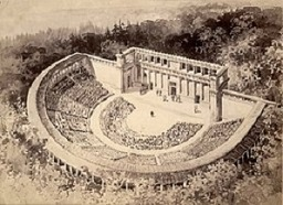 how did ancient greek theatre begin