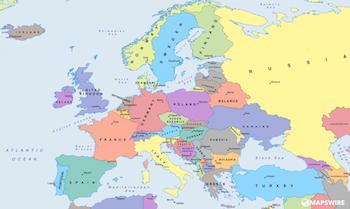 What Is A Political Map In Geography.Europe Political Map Games Study Com