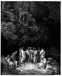 Virgil and Dante in Limbo
