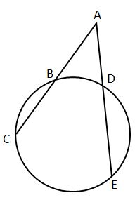 Quiz & Worksheet - Measuring Lengths of Tangents, Chords and Secants