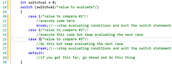 Switch Statements in C++ Programming | Study com
