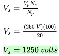 Potential Difference in Transformers: Ratio & Formulas