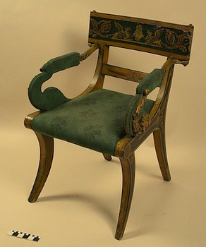 Perfect The Klismos Style Chair, Directly Modeled On Ancient Greek Styles, Was One  Of The Most Important Forms Of The Empire Style