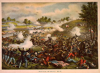 First Major Civil War Battle