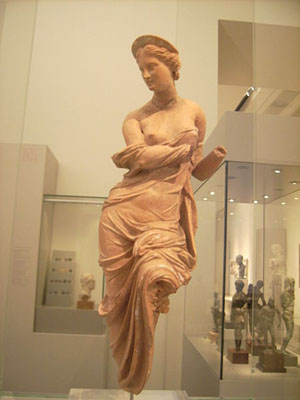 Statue of the Greek goddess Aphrodite