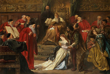 an analysis of rivalry in king lear a play by william shakespeare King lear is to blame in william shakespeare's play, king lear, the main character, king lear, claims to be a man more sinned against than sinning(3260-61) though a good king, king lear's own actions cause his family and kingdom to fall apart.