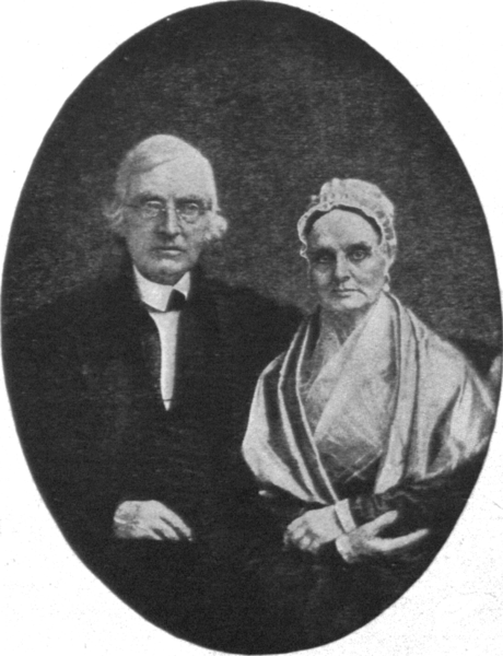Lucretia and James Mott