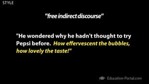 Mrs Dalloway Example of Free Indirect Discourse