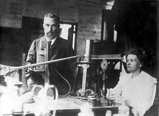 Image of Marie and Pierre Curie