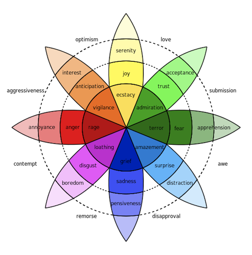 Robert Plutchiks Wheel Of Emotions Lesson Quiz on Two Important Feelings Happy And Sad 20
