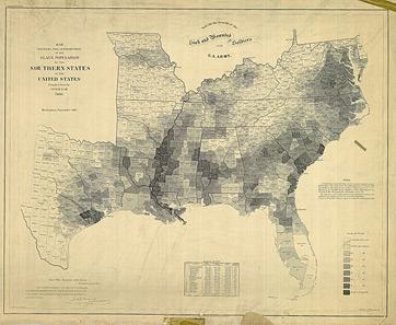 US Slave States Map History Studycom - Map of us slave states