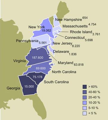 US Slave States Map History Studycom - Us slavery map