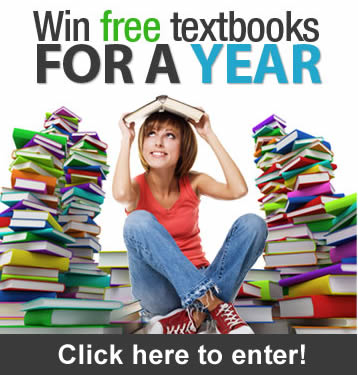 Enter to win free textbooks