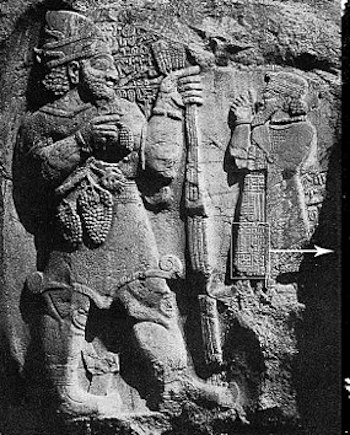 Hittite relief carving