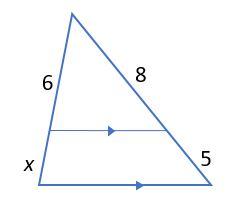 quiz worksheet triangle proportionality theorem. Black Bedroom Furniture Sets. Home Design Ideas