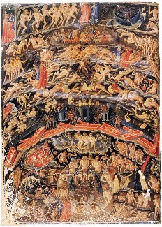 an analysis of symbolism of hell in inferno by dante Outline of inferno -- canto by canto  dante then reaches the shore of the first  the theological issue is how can one be alive and already in hell canto xxxiv.