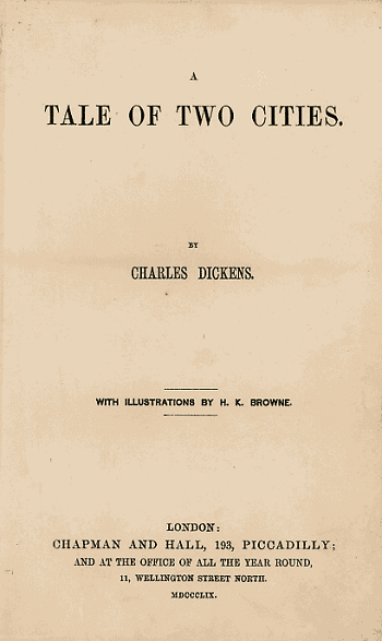 a tale of two cities tone writing style com a tale of two cities is one of dickens shortest novels and is also remarkably fast paced dickens chose to publish it in weekly installments