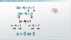 Absolute Value Example 3 Solution