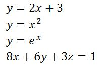 Equation Definition