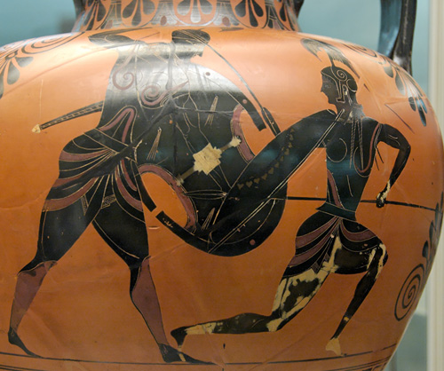 Achilles and Pethelieas