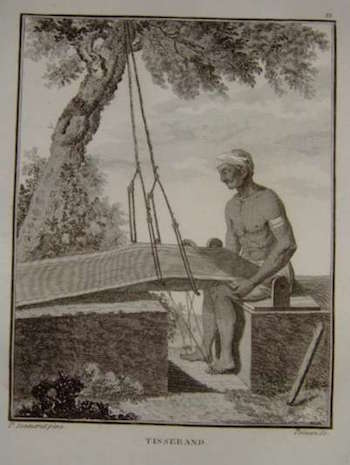 indian weavers history