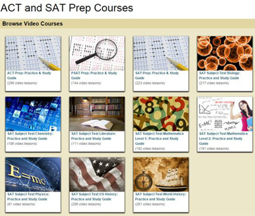 ACT SAT courses