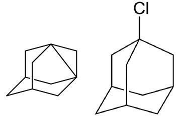 some dervatives of adamantane