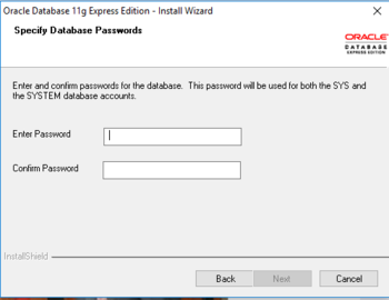 Installing Oracle Database Express Edition for Database Programming