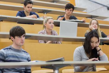 Is community college like high school?