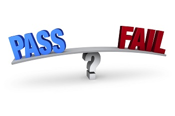 students and the option to pass or fail In a pass fail grading system, students receive either a pass or fail mark, instead of the traditional letter or number grade this is considered advantageous to both the students and faculty since the level of assessment is only limited to 2 options — a passing or failing grade.