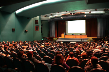 big lecture hall
