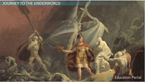 Aeneas Travels to Underworld