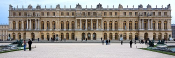 Facade of the Palace of Versailles