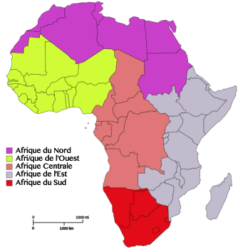 African Countries In French Studycom - West africa map quiz