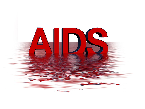 Picture of AIDS word art
