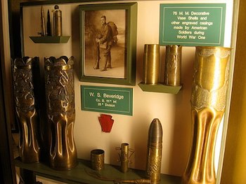 Trench art from World War I