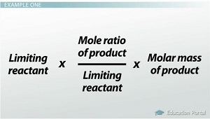 Amount of Product Made Equation