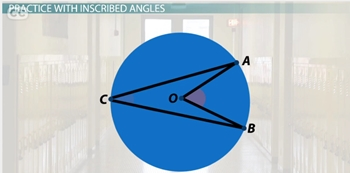 Central and Inscribed Angles: Definitions and Examples ...